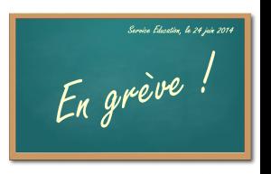 Education en grève