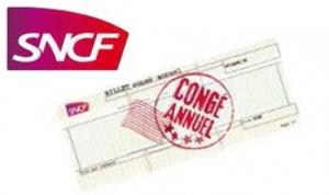 SNCF Billet congé